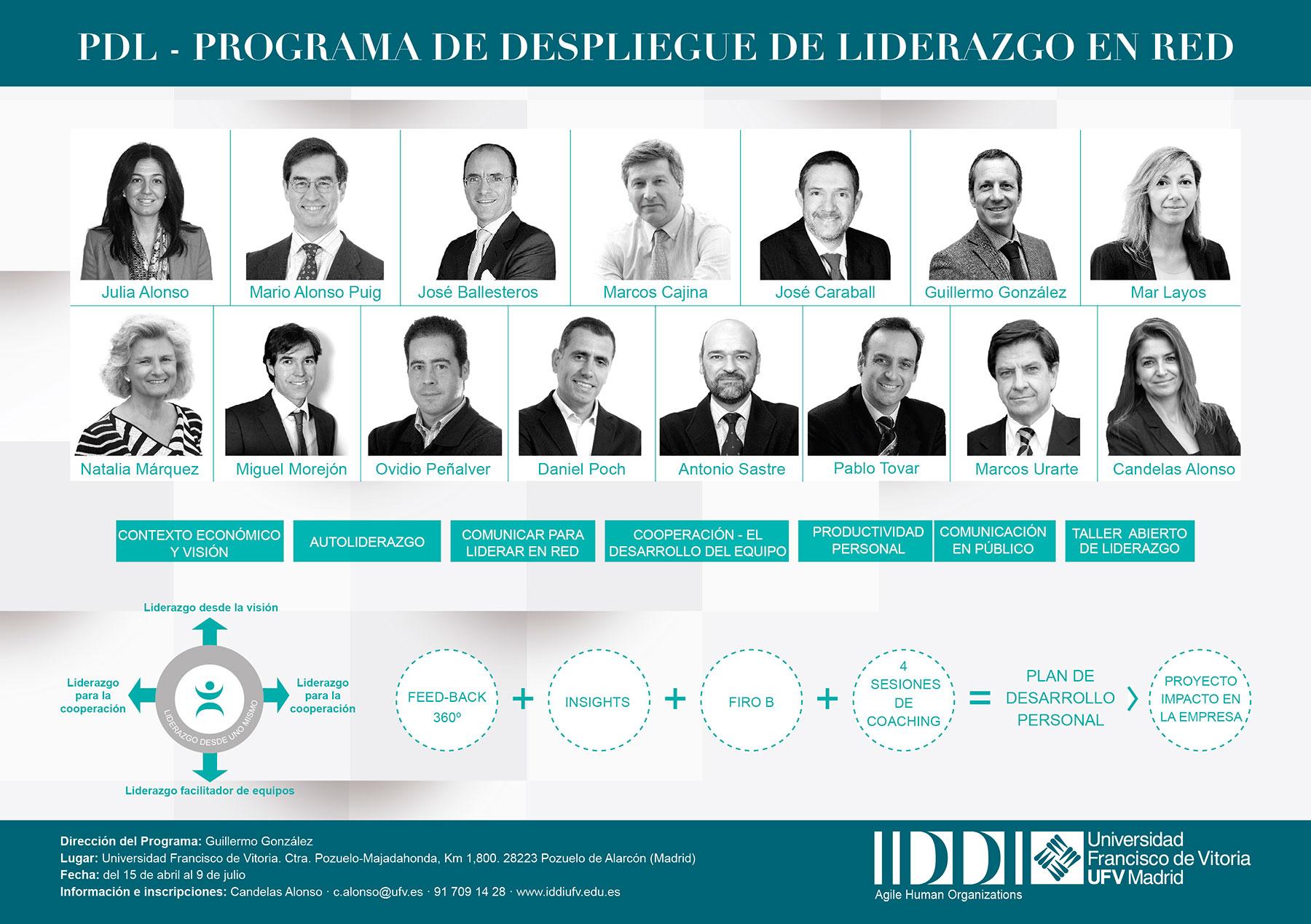 PDL - Programa de Despliegue de Liderazgo en Red